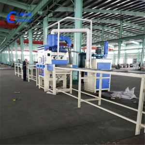 Double-sided automatic sandblasting machine