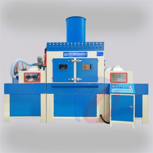 Large automatic sandblasting machine