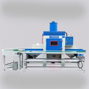 Conveying automatic sandblasting machine