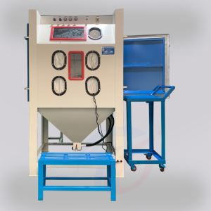 Non-standard manual sandblasting machine